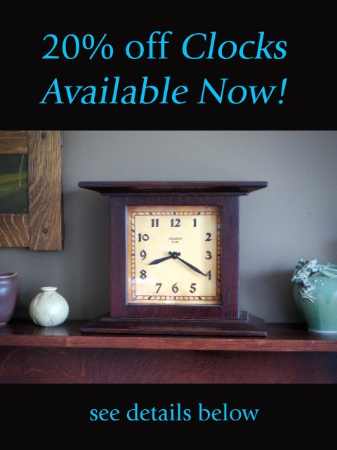 Clocks Available Now