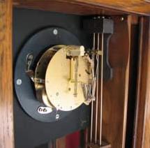 Clock movement closeup