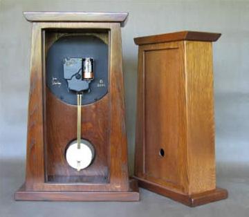 open inside of a clock