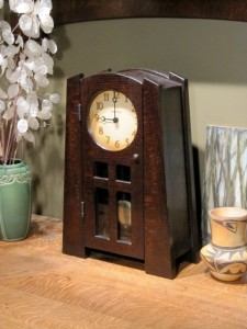 Arts and Crafts, Craftsman, Clock