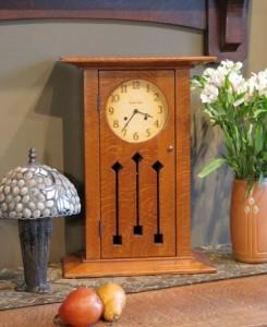 Arts and Crafts, Craftsman, Clock